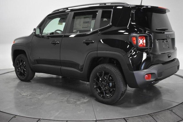 2020 Black Clearcoat Jeep Renegade Altitude 4 Door 4X4 SUV