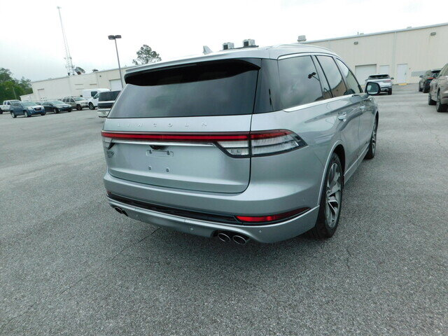 2020 Silver Radiance Metallic Lincoln Aviator Grand Touring 4 Door Automatic SUV 3.0L V6 Hybrid Turbocharged DOHC 24V LEV3-SULEV30 Engine