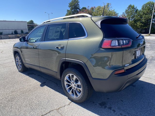 2021 Jeep Cherokee Latitude Plus Regular Unleaded I-4 2.4 L/144 Engine SUV 4 Door FWD Automatic
