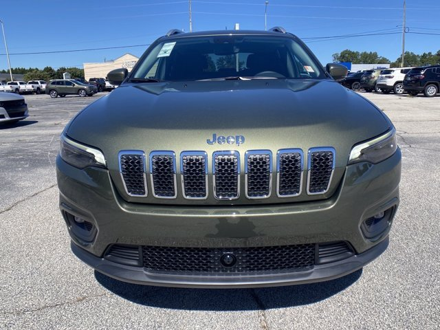 2021 Jeep Cherokee Latitude Plus FWD SUV Automatic Regular Unleaded I-4 2.4 L/144 Engine