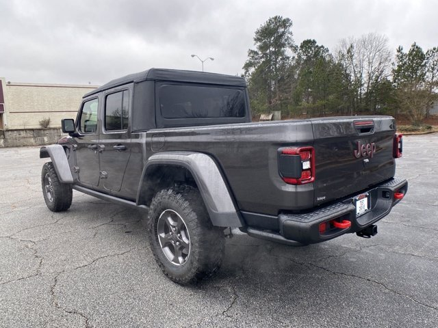2021 Granite Crystal Metallic Clearcoat Jeep Gladiator Rubicon Truck Regular Unleaded V-6 3.6 L/220 Engine Automatic 4 Door 4X4