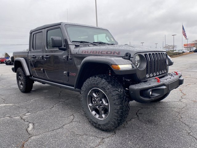 2021 Granite Crystal Metallic Clearcoat Jeep Gladiator Rubicon Automatic 4 Door 4X4 Truck