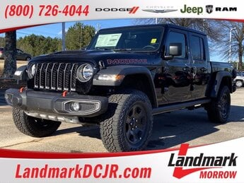 2021 Black Clearcoat Jeep Gladiator Mojave 4X4 Truck Automatic Regular Unleaded V-6 3.6 L/220 Engine 4 Door