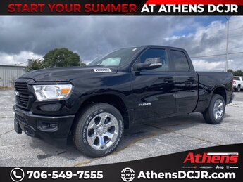 2021 Ram 1500 Big Horn Truck 4 Door RWD Automatic Gas/Electric V-6 3.6 L/220 Engine