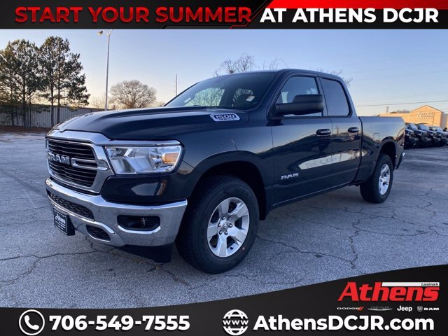 2021 Ram 1500 Big Horn Automatic Truck 4 Door Regular Unleaded V-8 5.7 L/345 Engine RWD
