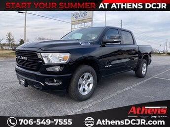 2021 Diamond Black Crystal Pearlcoat Ram 1500 Big Horn Truck 4 Door Regular Unleaded V-8 5.7 L/345 Engine Automatic RWD