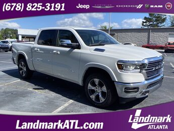 2021 Ram 1500 Laramie Regular Unleaded V-8 5.7 L/345 Engine 4 Door Truck RWD Automatic