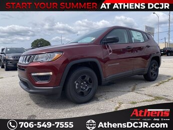 2021 Jeep Compass Sport Regular Unleaded I-4 2.4 L/144 Engine Automatic FWD SUV