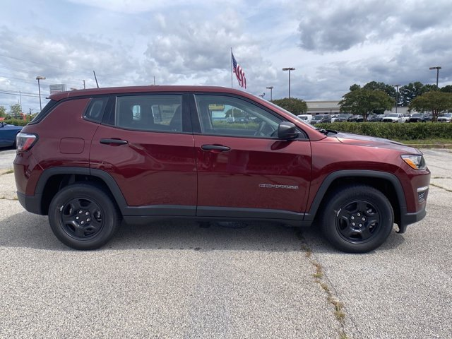 2021 Velvet Red Pearlcoat Jeep Compass Sport 4 Door FWD Regular Unleaded I-4 2.4 L/144 Engine SUV Automatic