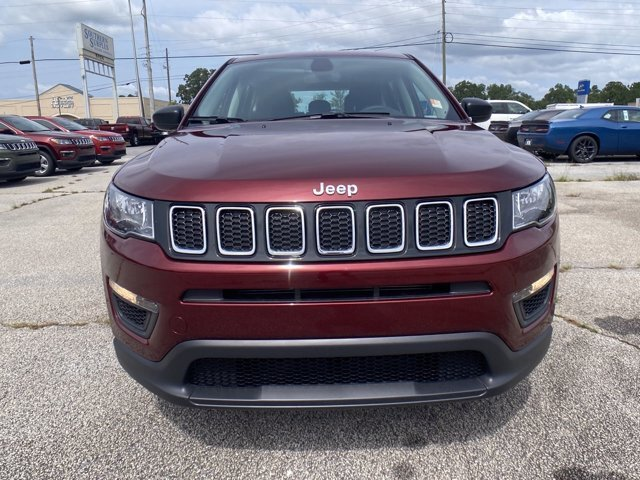 2021 Velvet Red Pearlcoat Jeep Compass Sport Regular Unleaded I-4 2.4 L/144 Engine SUV Automatic 4 Door