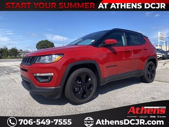 2021 Redline Pearlcoat Jeep Compass Altitude Regular Unleaded I-4 2.4 L/144 Engine 4 Door SUV Automatic FWD