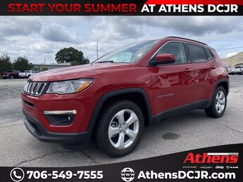 2021 Redline Pearlcoat Jeep Compass Latitude Automatic 4 Door Regular Unleaded I-4 2.4 L/144 Engine FWD