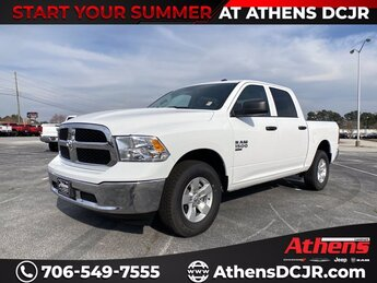 2021 Bright White Clearcoat Ram 1500 Classic Tradesman Regular Unleaded V-6 3.6 L/220 Engine Automatic Truck 4X4 4 Door