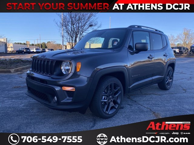 2021 Jeep Renegade Latitude FWD 4 Door Regular Unleaded I-4 2.4 L/144 Engine Automatic SUV