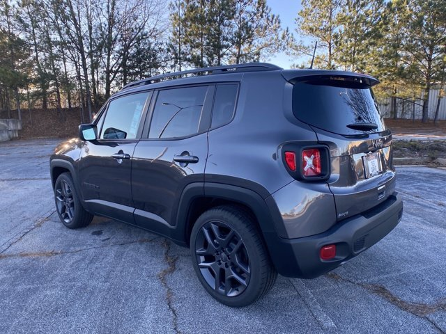 2021 Jeep Renegade Latitude 4 Door SUV Regular Unleaded I-4 2.4 L/144 Engine Automatic FWD