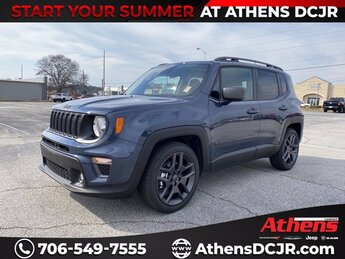 2021 Jeep Renegade Latitude Regular Unleaded I-4 2.4 L/144 Engine FWD SUV