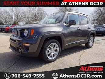 2021 Granite Crystal Metallic Clearcoat Jeep Renegade Latitude Regular Unleaded I-4 2.4 L/144 Engine 4 Door Automatic