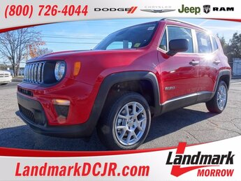 2021 Colorado Red Clearcoat Jeep Renegade Sport 4X4 4 Door Regular Unleaded I-4 2.4 L/144 Engine Automatic