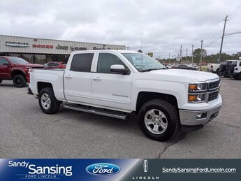 2015 Chevrolet Silverado 1500 LT 4X4 Automatic 4 Door