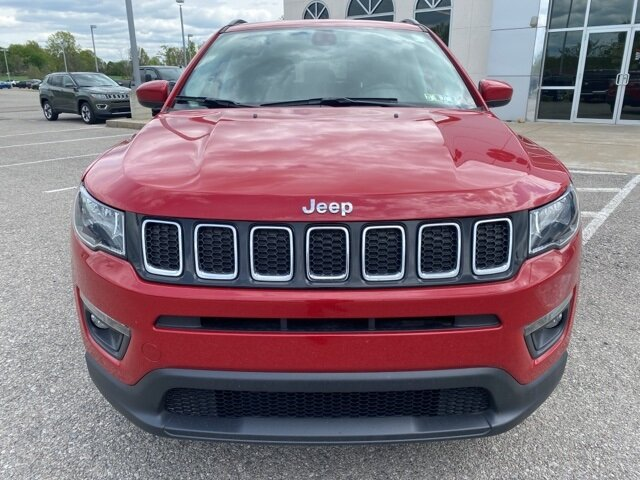 2021 Jeep Compass Latitude Automatic 4 Door SUV 4X4