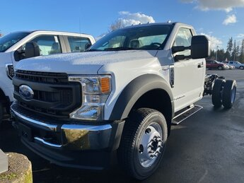 2021 Oxford White Ford Super Duty F-550 DRW XL Power Stroke 6.7L V8 DI 32V OHV Turbodiesel Engine 2 Door Truck Automatic 4X4