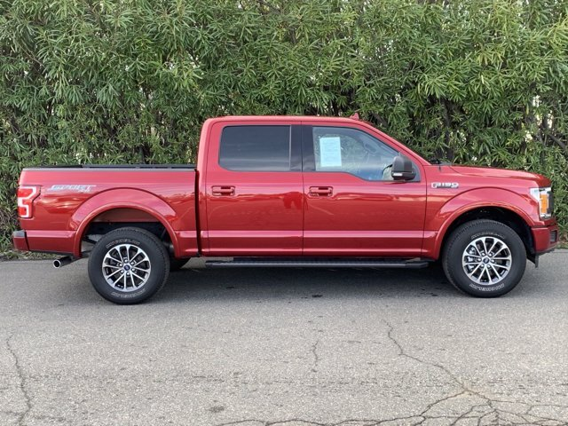 2018 Ford F-150 XLT Truck Automatic 4 Door Regular Unleaded V8 5.0 L Engine