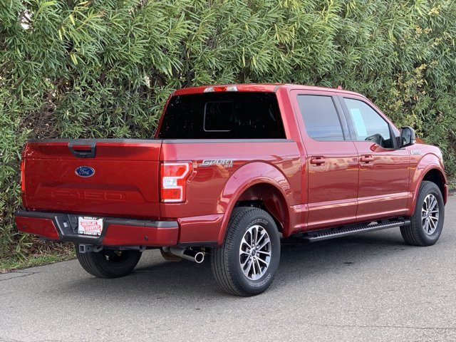 2018 Ruby Red Metallic Tinted Clearcoat Ford F-150 XLT 4X4 Automatic Truck