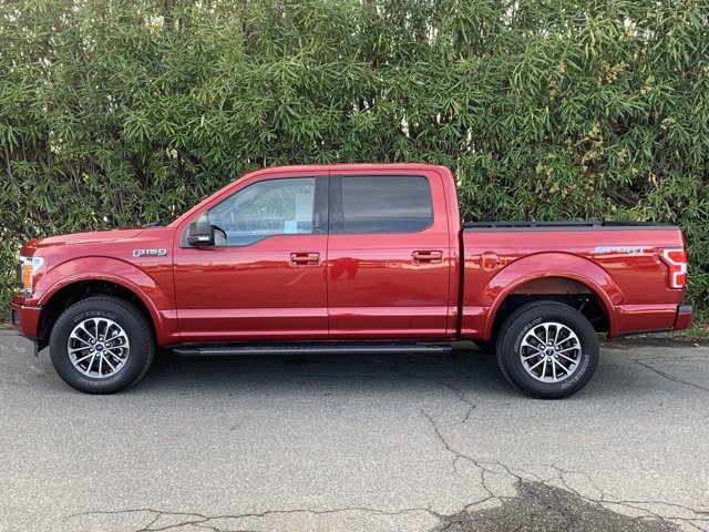 2018 Ruby Red Metallic Tinted Clearcoat Ford F-150 XLT Regular Unleaded V8 5.0 L Engine Automatic 4 Door