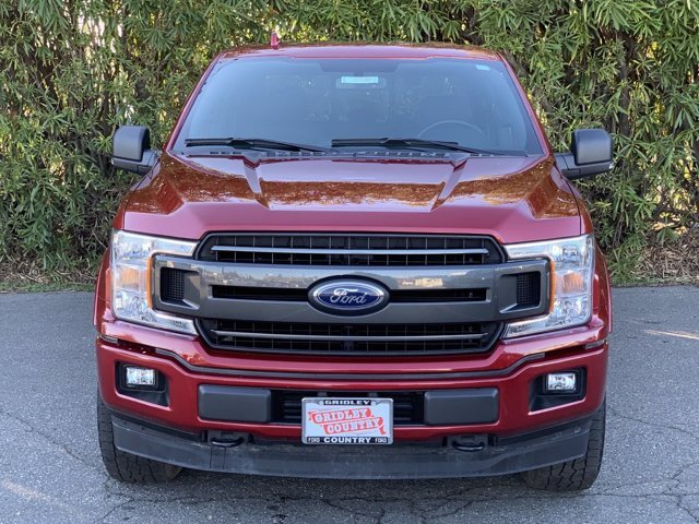 2018 Ruby Red Metallic Tinted Clearcoat Ford F-150 XLT Ecoboost 3.5L V6 Engine 4X4 Automatic 4 Door