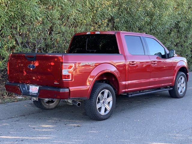2018 Ruby Red Metallic Tinted Clearcoat Ford F-150 XLT Automatic 4X4 Ecoboost 3.5L V6 Engine