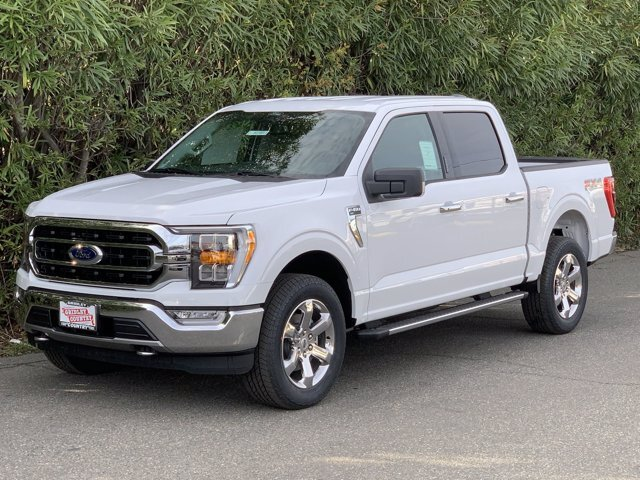 2021 Oxford White Ford F-150 XLT Regular Unleaded V6 3.5 L EcoBoost Engine Automatic 4 Door Truck