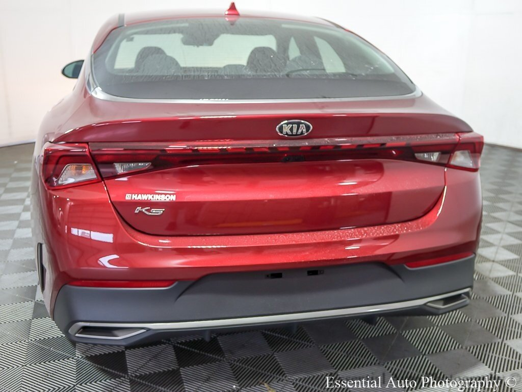 2021 Passion Red Kia K5 LX Automatic 4 Door FWD 1.6L I4 DGI Engine