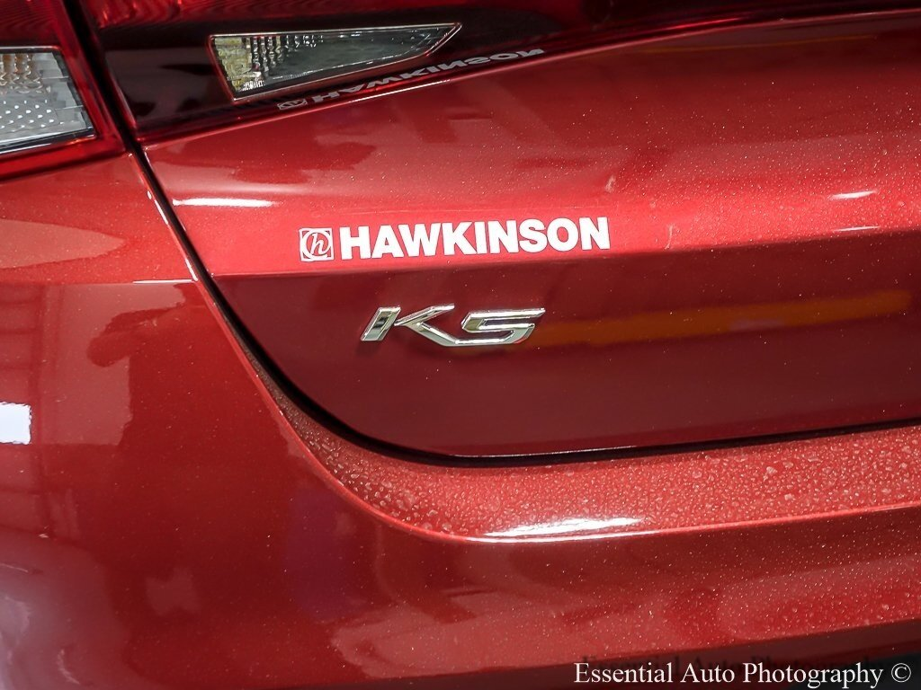 2021 Passion Red Kia K5 LX Sedan FWD Automatic