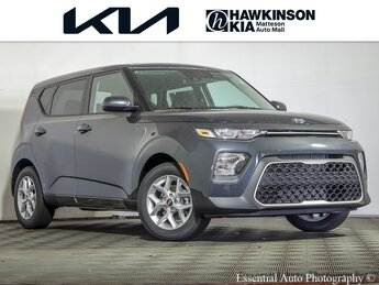 2021 Gravity Gray Kia Soul S Crossover 2.0L I4 MPI DOHC 16V LEV3-ULEV125 147hp Engine Automatic