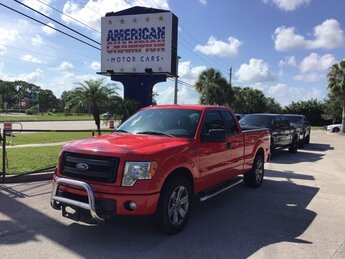2014 Race Red Ford F-150 STX 3.7L V6 FFV Engine Truck Automatic 4 Door RWD