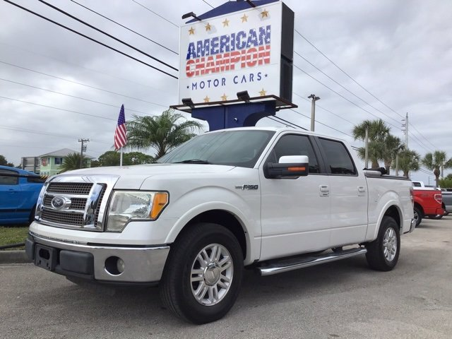 2010 Ford F-150 Lariat 4 Door 5.4L V8 EFI 24V FFV Engine Truck Automatic RWD