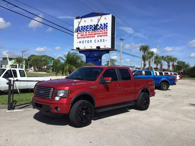 2012 Ford F-150 FX4 5.0L V8 FFV Engine 4 Door Automatic 4X4 Truck