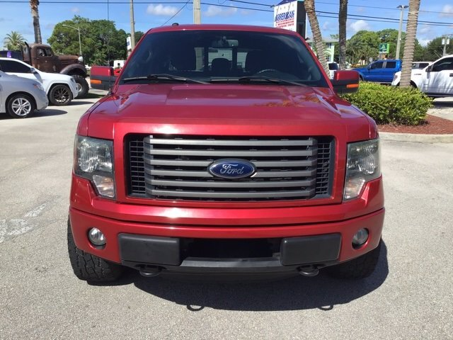 2012 Vermillion Red Ford F-150 FX4 Automatic 4 Door 4X4 5.0L V8 FFV Engine Truck