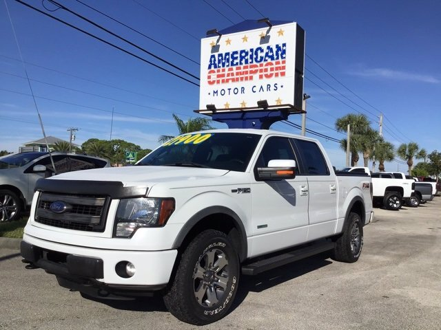 2013 Ford F-150 FX4 Automatic 4 Door 4X4 Truck