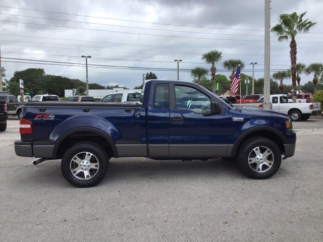 2008 Dark Blue Pearl Clearcoat Metallic Ford F-150 XLT 4X4 Truck Automatic 2 Door 5.4L V8 EFI 24V Engine