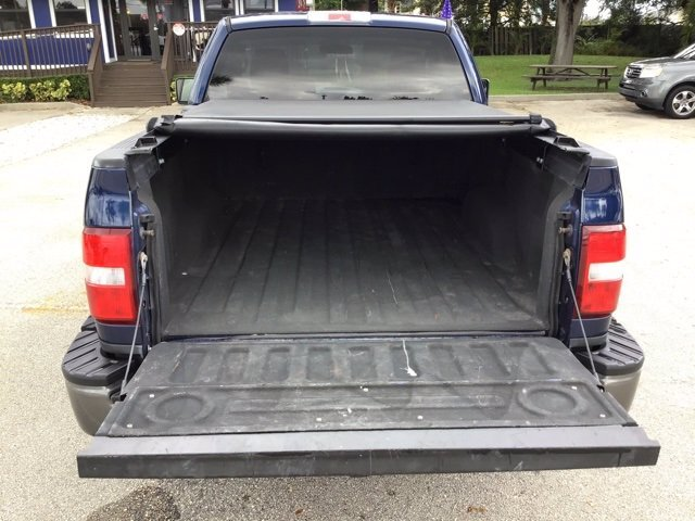 2008 Dark Blue Pearl Clearcoat Metallic Ford F-150 XLT 4X4 Truck Automatic