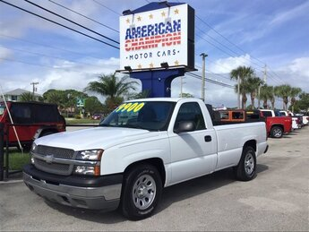 2005 Summit White Chevrolet Silverado 1500 Work Truck 2 Door RWD Truck Automatic