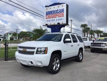 2012 Summit White Chevrolet Tahoe LT SUV Automatic Vortec 5.3L V8 SFI Flex Fuel Iron Block Engine RWD 4 Door
