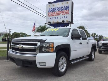 2008 Summit White Chevrolet Silverado 1500 LT w/1LT Truck Vortec 5.3L V8 SFI Active Fuel Management Engine Automatic 4 Door