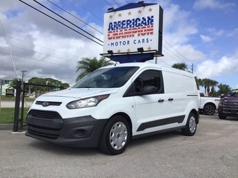 2017 Frozen White Ford Transit Connect XL Duratec 2.5L I4 Engine Automatic Van FWD 4 Door