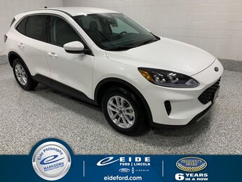 2021 Star White Metallic Tri-Coat Ford Escape SE SUV 1.5L EcoBoost Engine Automatic