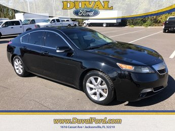 2012 Crystal Black Pearl Acura TL 3.5 FWD Sedan 4 Door