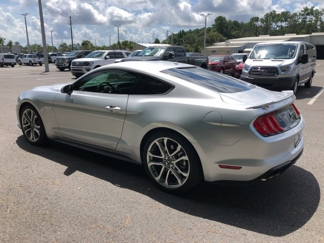 2019 Ingot Silver Metallic Ford Mustang GT Premium 5.0L V8 Ti-VCT Engine 2 Door Coupe