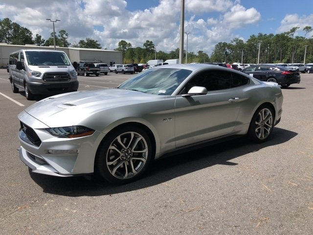2019 Ingot Silver Metallic Ford Mustang GT Premium Automatic Coupe RWD