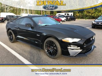2019 Shadow Black Ford Mustang GT Premium 5.0L V8 Ti-VCT Engine Manual Coupe RWD